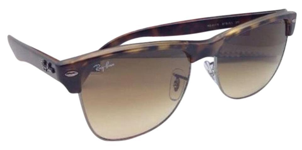 023a7589a5e Ray-Ban Ray-Ban Sunglasses CLUBMASTER OVERSIZED RB 4175 878 51 Havana- ...
