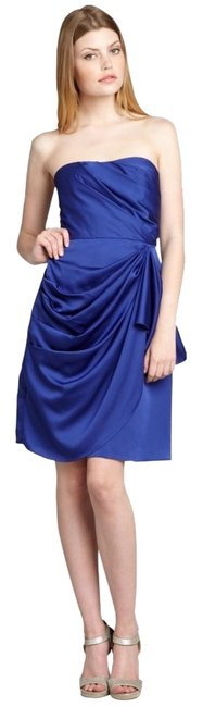 Max and Cleo Strapless Sweetheart Draped Dress