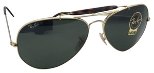Ray-Ban RAY-BAN Sunglasses OUTDOORSMAN II RB 3029 181 Aviator Gold w/G15 Green