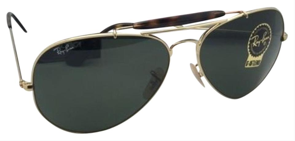 74dac0ac8 Ray-Ban RAY-BAN Sunglasses OUTDOORSMAN II RB 3029 181 Aviator Gold w/ ...