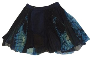 Masha Ma Mini Skirt Blue
