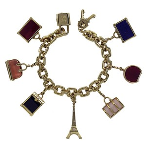 Louis Vuitton Louis Vuitton Gold Charm Bracelet