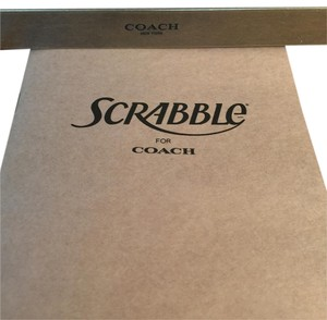 Coach Coach Limited Edition Scrabble Board Game