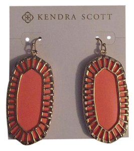 Kendra Scott Stunning Kendra Scott Danielle Earrings In Classic Coral