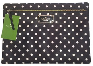 Kate Spade Black/White Clutch