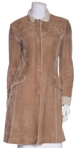 Brunello Cucinelli Tan & Shearling Jacket