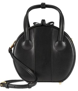 Marc by Marc Jacobs Show Box Darci Leather Right Round Cross Body Bag