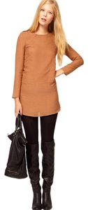 Vanessa Bruno short dress Orange Knit Long-sleeve Mini Fall on Tradesy