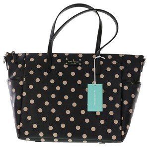 Kate Spade Black/Decobeige Diaper Bag