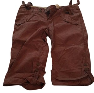 Refuge Jeans Capris Brown