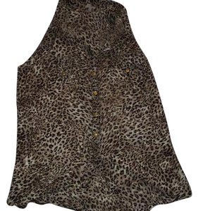 Charlotte Russe Top Leopard