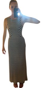 Black and White Maxi Dress by Monteau Los Angeles