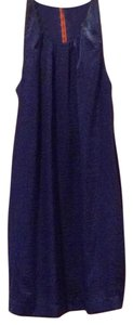 Uncle Frank short dress Midnight blue on Tradesy