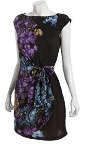 Cynthia Steffe Steefe Floral Silk Dress