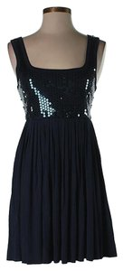 Bailey 44 Sequin Pleated Dress