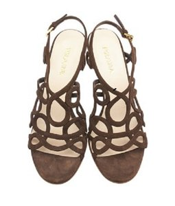 Prada Formal Brown Sandals