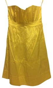 Calypso St. Barth Silk Strapless A-line Dress