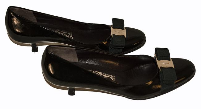 Item - Green Patent Leather Pumps Size US 8 Narrow (Aa, N)