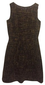 Tocca Tweed A-line Sleeveless Dress