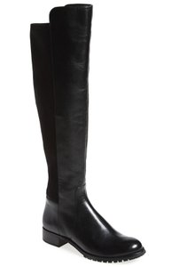 Michael Kors Wide Calf Over The Knee Black Boots