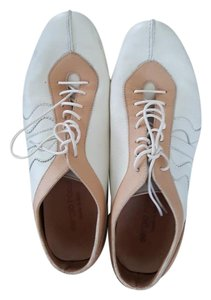 Sergio Rossi Cream and tan Flats