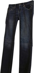 American Eagle Outfitters Wash Super Stetch Skinny Jeans-Dark Rinse