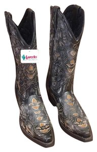 Laredo Western Wear Antiqued Charcoal Boots