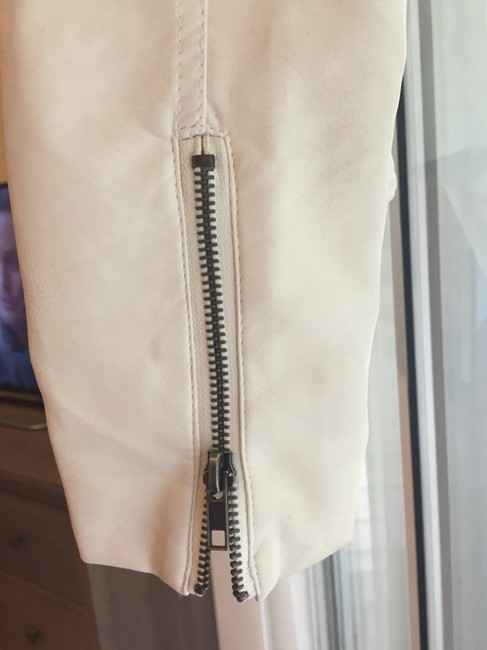 Forever 21 Moto Zippers Cuffs Perforated Motorcycle Jacket