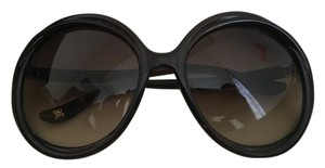 Jimmy Choo Jimmy Choo Round Sunglasses
