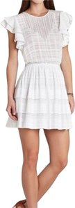 BCBGMAXAZRIA short dress White Party Vacation Designer Fashion Fun Cotton Layers Summer on Tradesy
