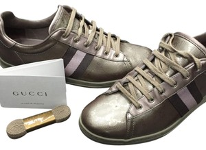 Gucci Lavender/ Pink / Metallic Athletic