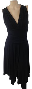 Cynthia Steffe short dress black on Tradesy