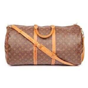 Louis Vuitton Monogram Canvas Brown Travel Bag