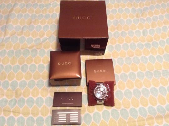 Gucci Gucci G Chrono Stainless Steel Diamond Men Watch