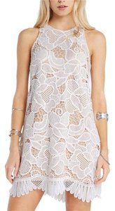 Soprano Lace Crochet Racer-back Dress