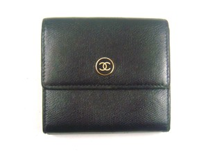 Chanel Calf Leather Trifold Wallet Italy