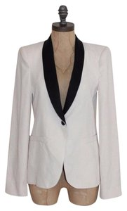 Zara Fitted Night Out Professional BEIGE Blazer