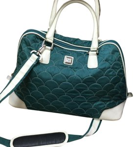 Diane von Furstenberg Green Travel Bag