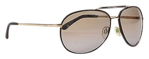 Tod's Tods Brown Gold Tone Metal To 48f Aviator Sunglasses