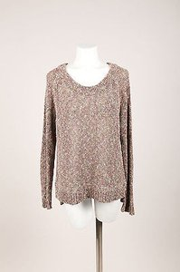 Rag & Bone Tan Pink Cotton Sweater