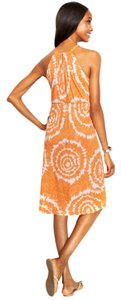 INC International Concepts short dress Orange Grey Lace Sleeveless on Tradesy