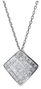 Other 18K White Gold Diamonds Necklace