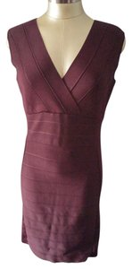 INC International Concepts short dress DARK PURPLE RAISIN 5d404re899 Knee-length Long Sleeve 3341-0072 on Tradesy