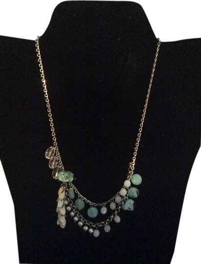 Preload https://item1.tradesy.com/images/anne-klein-turquoise-beaded-necklace-1956945-0-0.jpg?width=440&height=440