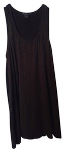 Forever 21 Tunic Top Shimmering Black