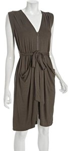 BCBGMAXAZRIA short dress Dusty Olive Bcbg Green on Tradesy