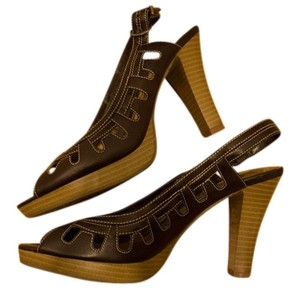 Hot Kiss Brown Sandals