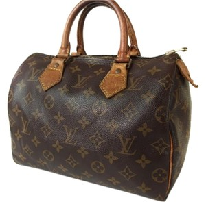 Louis Vuitton Lv Signature Satchel in Brown