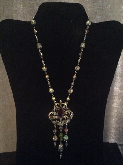 Other Purple beaded necklace