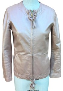 Marc Jacobs Irridescent pearl pink Leather Jacket